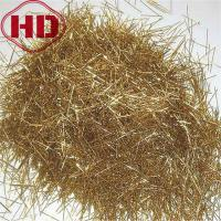 Buy cheap 0.2x13mm  steel fiber with  brass-plated coating from wholesalers