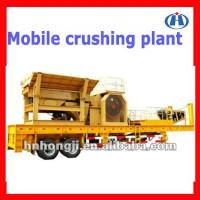 Buy cheap Mobile Jaw crusher made by hongji for sale from wholesalers