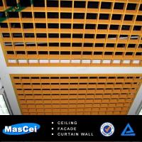 Buy cheap 600*600mm Aluminum open ceiling tiles/metal tiles made in china from wholesalers