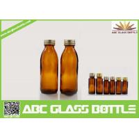 Buy cheap 130ml Competitive Price Amber Syrup Glass Bottle product