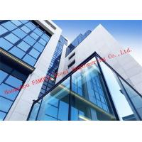 Buy cheap Half Hidden Frame With Laminated Insulation Double Skin Glass Curtain Wall For product