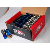 Buy cheap titanium lug nuts 12*1.5 50mm 17hex wheel parts from wholesalers