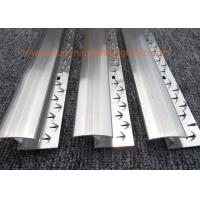 Buy cheap Aluminium Zig  Zag Carpet Door Bars / Strip / Trim Smooth Transition Good Hardness from wholesalers