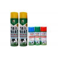 Animal Tail Aerosol Spray Paint No Harm To Skin For Cattle / Sheep / Livestock / Marking
