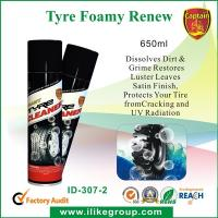 Buy cheap 650ml Car Cleaning Chemicals with UV Ray Absorbefacient for Tyre Cleaning from wholesalers