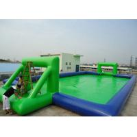 Buy cheap Customized Chilren Inflatable Sports Games , Inflatable Soccer Field For Kids from wholesalers