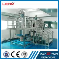 Buy cheap Industrial Chemical Liquid Mixer Machine Detergent Agitator Production Equipment Industrial Cosmetic Liquid Mixer from wholesalers