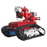 Buy cheap Battery driven remote control fire rextinguishing robot YM40D  from wholesalers