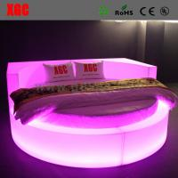 Buy cheap Plastic Lightweight LED Light Bed Waterproof For Hotel Sex Theme RGB Color from wholesalers