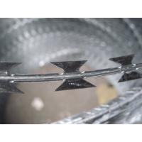 Buy cheap Electro-Galvanized Iron Wire Concertina Razor Barbed Wire Fencing from wholesalers