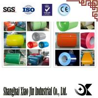 Buy cheap Prepainted or color coated steel coil PPGI or PPGL color coated galvanized steel product