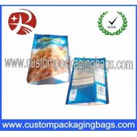 Buy cheap Three Side Sealed PA Nylon Laminated Food Grade Plastic Bags For Frozen Food Packing from wholesalers