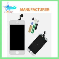 Buy cheap White LCD Display+Touch Screen Digitizer Assembly Replacement for iPhone 5S OEM from wholesalers