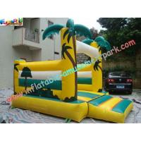 Buy cheap Palm Tree Commercial Bouncy Castles Inflatable , Bouncer Jumper For Kids from wholesalers