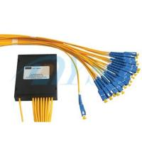 Buy cheap 1*32 PLC Optical Fiber Splitter G657A1 Fiber With SC / UPC Connector from wholesalers