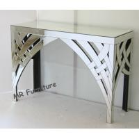 Buy cheap Modern Narrow Mirrored Console Table Furniture 115cm Long Rectangle Shape from wholesalers