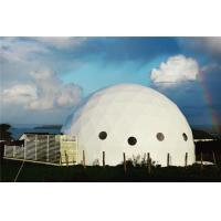 Buy cheap Eco Resort Geodesic Dome House Luxury Hotel Tent Camp Hot Tourism Season from wholesalers