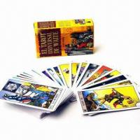 Buy cheap Tarot Playing Cards, Customized Designs are Accepted, with 4C Offset Printing from wholesalers