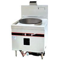 West Food Restaurant Commercial Kitchen Equipments , Double Commercial Gas Range