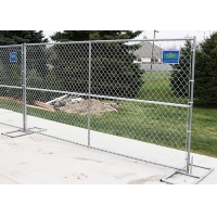 Buy cheap Construction Site 6ft*12ft Portable Chain Link Fence Panels from wholesalers