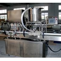 Buy cheap Custom Ketchup Glass Bottle Filling Machine Liquid Filling Line Equipment from wholesalers