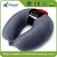 Buy cheap Custom neckrest u shape microbeads travel pillow with eye mask from wholesalers