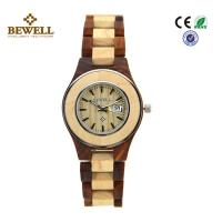 Buy cheap Eco Friendly Handcrafted OEM / ODM Ladies Wooden Watch Maple And Sandalwood from wholesalers