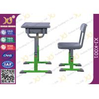 Buy cheap Economic Modern Standard School Table Chair Set For Single Student from wholesalers