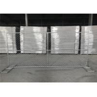 Buy cheap 8FT X 12FT 12.5GA wire 38mm outer tubing temp chain link construction security fence panels from wholesalers