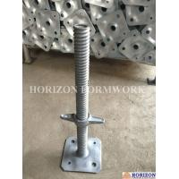 Buy cheap Niveladores,Andamios piezas,Screw jack base, Scaffold jack base, U-head, Scaffolding parts from wholesalers