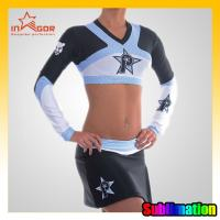 Buy cheap ODM Girls Dance Cheerleading Wear Moisture Wicking Sports Clothing from wholesalers