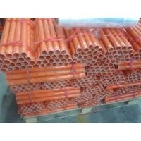 China OEM/ODM FRP Fiberglass reinforced plastic pipe / tube , CR XCR VE Type on sale