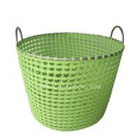 Buy cheap hand woven family pp nylon storage basket with iron frame from wholesalers