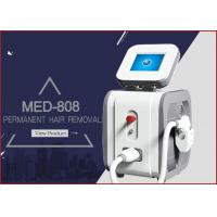 Buy cheap MED - 808 peak power 2000w net weight 43kgs portable diode laser hair removal painfree machine from wholesalers