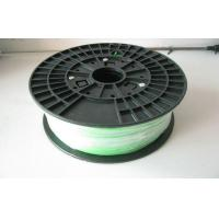 Buy cheap Luminous Green 1.75MM Plastic Filament For 3D Printer , Grade A from wholesalers