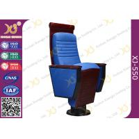 Buy cheap Wooden Carved Craft Auditorium Style Seating Theater Chairs With Cushion from wholesalers