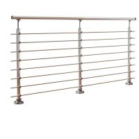 Buy cheap DIY stainless steel balustrade systems with solid rod bar design from wholesalers
