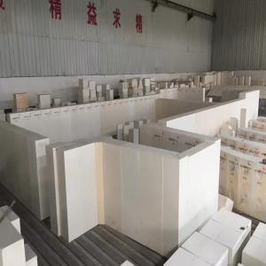 China sodium silicate furnace used high erosion resistance AZS brick on sale