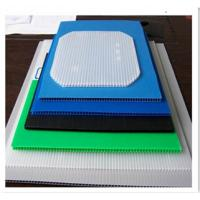 Buy cheap OEM / ODM Corflute Board polypropylene corrugated sheet For Colorful Printing Billboard from wholesalers