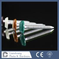 Buy cheap 65mm  Ring Shank Plastic Head Nails Stainless Steel A4 Grade  SUS316 from wholesalers