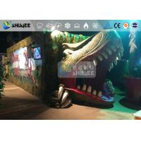 Buy cheap Fantastic Mobile 7D Movie Theater Dinosaur Cinema For Theme Park from wholesalers