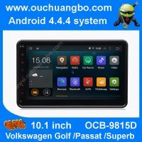 Buy cheap Ouchuangbo android 4.4 VW Caddy EOS Polo 10.1 inch big screen 3G WIFI USB free map 47 core from wholesalers