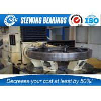 Buy cheap Anti Friction Slewing Ring Bearings Stainless Steel Whole Quench Hardening from wholesalers
