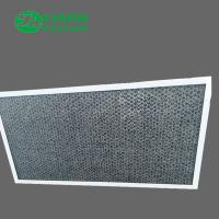 Buy cheap Honeycomb Activated Carbon Air Filter / Smoke Removal Filter For Housing Ventilation from wholesalers