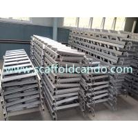 Buy cheap Q235 Scaffolding steel galvanized stair case 7 steps 8 steps 9 steps for scaffolding frame system Ringlock system from wholesalers