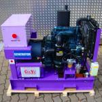 Buy cheap 380v Silent Diesel Generator 1500rpm 6.5kva Diesel Engine from wholesalers