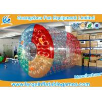 Buy cheap PVC Inflatable Water Roller Ball Inflatable Hamster Wheel For Water Pool from wholesalers