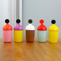 Buy cheap 300ml Cute Glass Water Bottle With Silicone Protective Sleeve For Children Drinking product