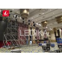 Buy cheap Flexible Layer Truss , 6061 - T6 Aluminium Slab Form Work Install Lighting Scaffolding For Line Array from wholesalers