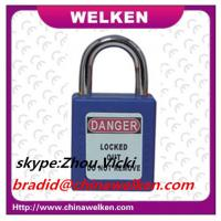 Buy cheap Manufacture,25mm short shackle,ABS safety padlock from wholesalers